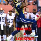 JUSTICE CUNNINGHAM 2014 ST. LOUIS RAMS FOOTBALL CARD