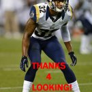 BRANDON McGEE 2014 ST. LOUIS RAMS FOOTBALL CARD