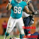 GARRISON SMITH 2014 MIAMI DOLPHINS FOOTBALL CARD