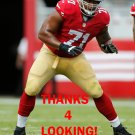 JONATHAN MARTIN 2014 SAN FRANCISCO 49ERS FOOTBALL CARD