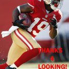 TRINDON HOLLIDAY 2014 SAN FRANCISCO 49ERS FOOTBALL CARD