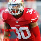 LEON McFADDEN 2014 SAN FRANCISCO 49ERS FOOTBALL CARD
