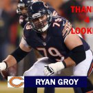 RYAN GROY 2014 CHICAGO BEARS FOOTBALL CARD