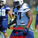 NICK BECTON 2014 SAN DIEGO CHARGERS FOOTBALL CARD