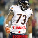AUSTEN LANE 2014 CHICAGO BEARS FOOTBALL CARD