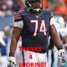 JERMON BUSHROD 2014 CHICAGO BEARS FOOTBALL CARD