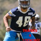 ALVIN SCIONEAUX 2014 SAN DIEGO CHARGERS FOOTBALL CARD