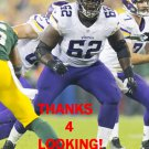 VLADIMIR DUCASSE 2014 MINNESOTA VIKINGS FOOTBALL CARD