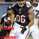ZACH MILLER 2014 CHICAGO BEARS FOOTBALL CARD