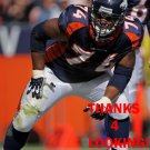 RYAN HARRIS 2013 DENVER BRONCOS FOOTBALL CARD