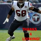 RYAN HARRIS 2012 HOUSTON TEXANS FOOTBALL CARD