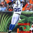 PHILLIP HUNT 2014 INDIANAPOLIS COLTS FOOTBALL CARD