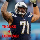 LAWRENCE GUY 2014 SAN DIEGO CHARGERS FOOTBALL CARD