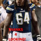 CRAIG WATTS 2014 SAN DIEGO CHARGERS FOOTBALL CARD
