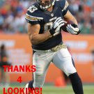 JOHN PHILLIPS 2014 SAN DIEGO CHARGERS FOOTBALL CARD