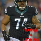 WADE KELIIKIPI 2014 PHILADELPHIA EAGLES FOOTBALL CARD