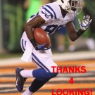 ERIK SWOOPE 2014 INDIANAPOLIS COLTS FOOTBALL CARD