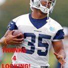 SYNJYN DAYS 2015 DALLAS COWBOYS FOOTBALL CARD
