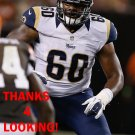 TY NSEKHE 2012 ST. LOUIS RAMS FOOTBALL CARD