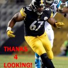 NICK WILLIAMS 2014 PITTSBURGH STEELERS FOOTBALL CARD