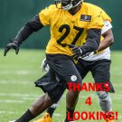 SENQUEZ GOLSON 2015 PITTSBURGH STEELERS FOOTBALL CARD