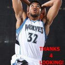 KARL-ANTHONY TOWNS 2015-16 MINNESOTA TIMBERWOLVES BASKETBALL CARD