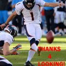 CONNOR BARTH 2014 DENVER BRONCOS FOOTBALL CARD