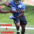 RASHEED WILLIAMS 2015 DETROIT LIONS FOOTBALL CARD