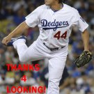 CHIN-HUI TSAO 2015 LOS ANGELES DODGERS  BASEBALL CARD