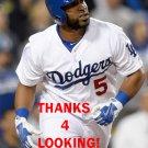 ALBERTO CALLASPO 2015 LOS ANGELES DODGERS  BASEBALL CARD