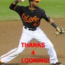 REY NAVARRO 2015 BALTIMORE ORIOLES BASEBALL CARD