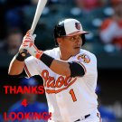 EVERTH CABRERA 2015 BALTIMORE ORIOLES BASEBALL CARD