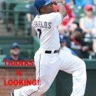 DELINO DeSHIELDS 2015 TEXAS RANGERS BASEBALL CARD
