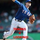LOGAN VERRETT 2015 TEXAS RANGERS BASEBALL CARD