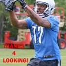 VERLON REED 2015 DETROIT LIONS FOOTBALL CARD