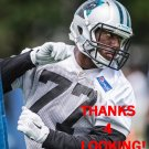 RAKIM COX 2015 CAROLINA PANTHERS FOOTBALL CARD