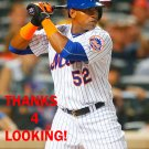 YOENIS CESPEDES 2015 NEW YORK METS BASEBALL CARD