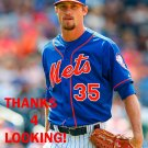 LOGAN VERRETT 2015 NEW YORK METS BASEBALL CARD