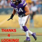 JUSTIN TRATTOU 2015 MINNESOTA VIKINGS FOOTBALL CARD
