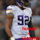 TOM JOHNSON 2015 MINNESOTA VIKINGS FOOTBALL CARD