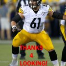 REESE DISMUKES 2015 PITTSBURGH STEELERS FOOTBALL CARD