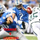 KYLE BRINDZA 2015 DETROIT LIONS FOOTBALL CARD