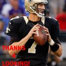 LUKE McCOWN 2015 NEW ORLEANS SAINTS FOOTBALL CARD