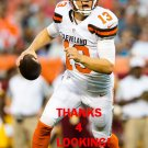 JOSH McCOWN 2015 CLEVELAND BROWNS FOOTBALL CARD