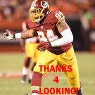 PRESTON SMITH 2015 WASHINGTON REDSKINS FOOTBALL CARD