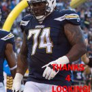 ORLANDO FRANKLIN 2015 SAN DIEGO CHARGERS FOOTBALL CARD