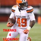 TIMOTHY FLANDERS 2015 CLEVELAND BROWNS FOOTBALL CARD