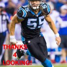 DAVID MAYO 2015 CAROLINA PANTHERS FOOTBALL CARD