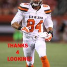 ROB HOUSLER 2015 CLEVELAND BROWNS FOOTBALL CARD