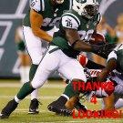 ZAC STACY 2015 NEW YORK JETS FOOTBALL CARD